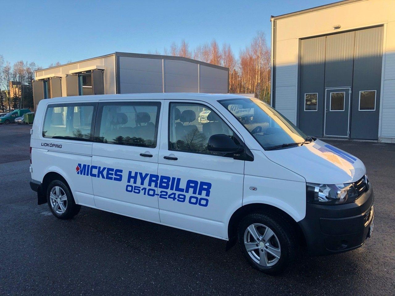Caravelle minibuss